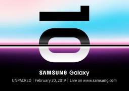 The Samsung Galaxy S10 launch event is scheduled for February 20