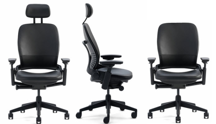 what are the best ergonomic office chairs with headrests