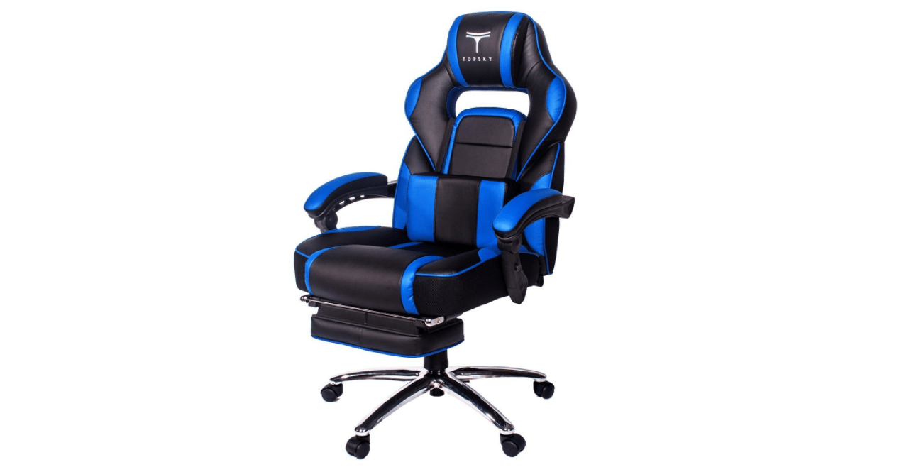Groovy Topsky High Back Racing Style Gaming Chair Review Bralicious Painted Fabric Chair Ideas Braliciousco