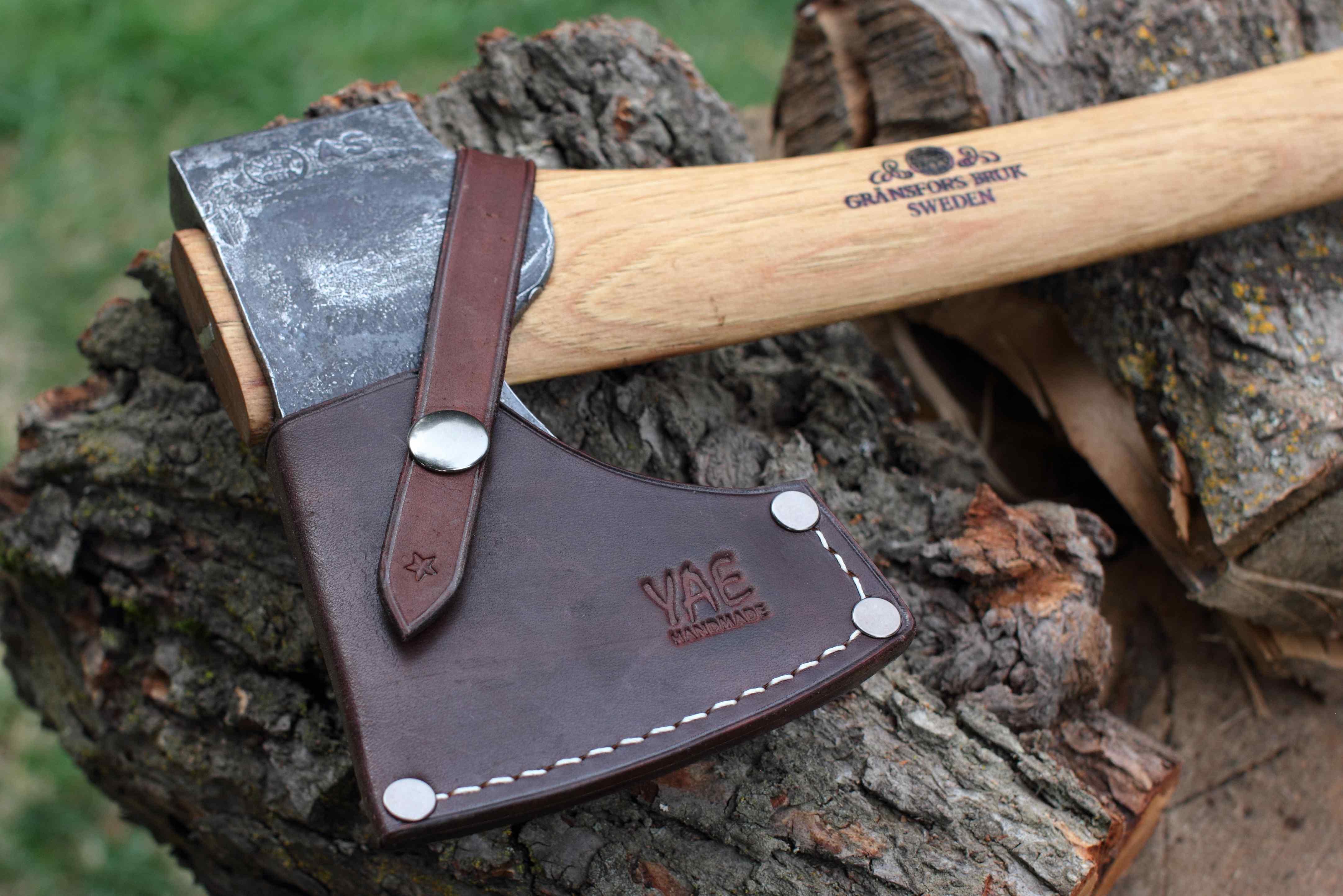 YAE Axe Sheath For Gransfors Bruks Scandinavian Forest Handmade