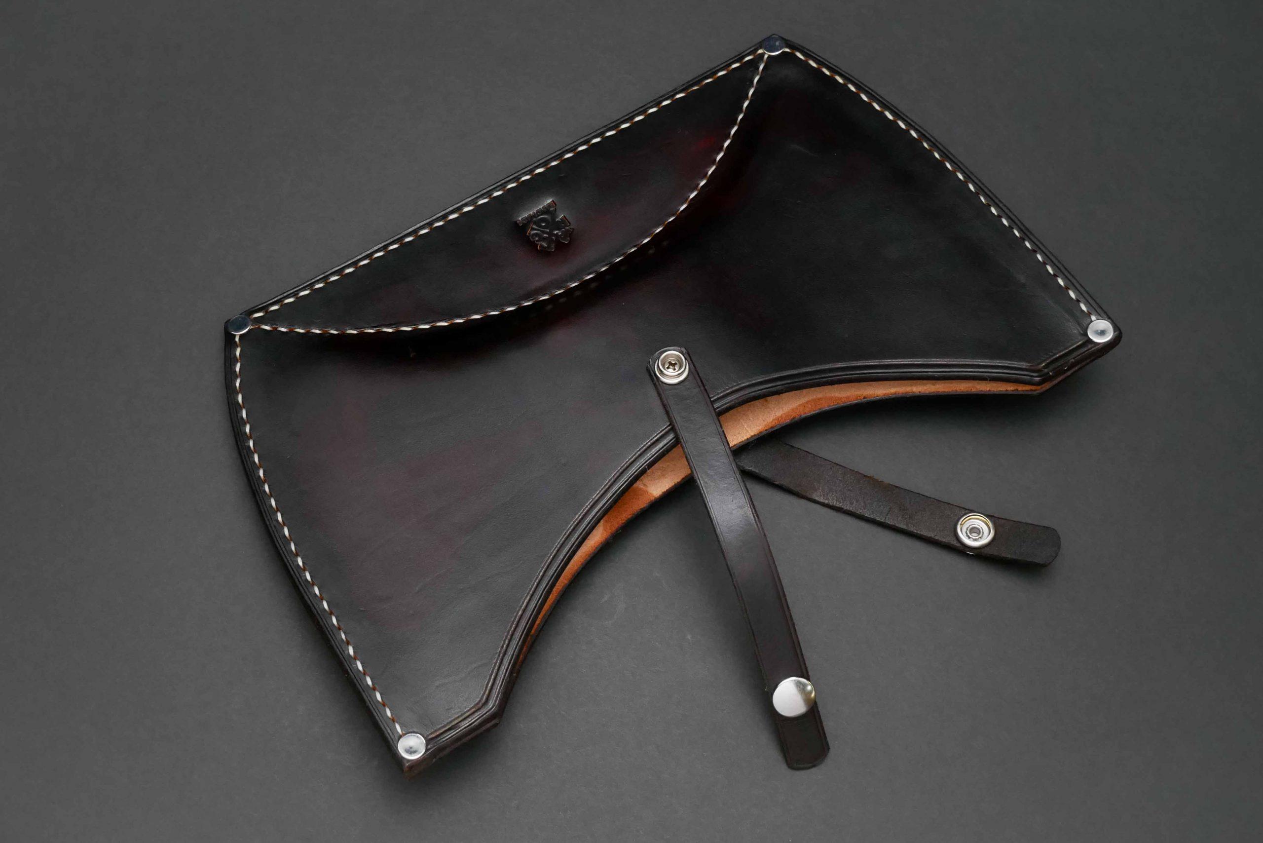 Gransfors Bruks Double Bit Axe Custom Leather Sheath
