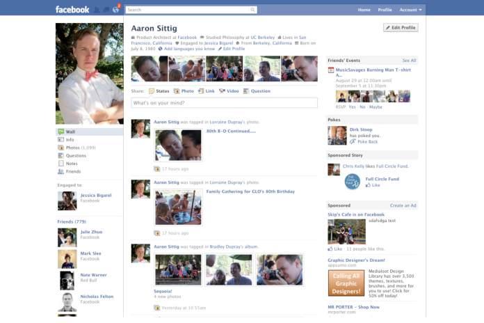 Evolution of Facebook 8