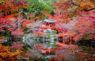 Daigo Ji Temple in Kyoto, Japan