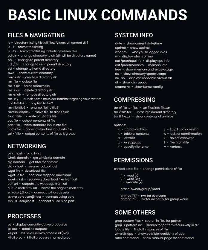 Basic Linux Command