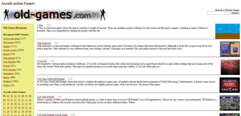 7 Sites to Download Old PC Games for Free 7