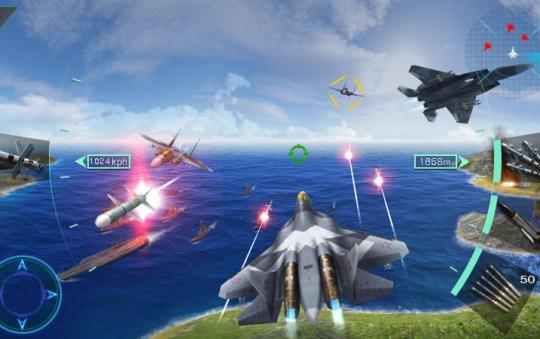 Sky Fighters 3D – Android Game Review