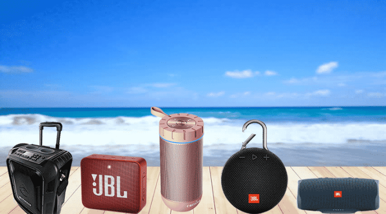 5 Best Bluetooth speaker for the beach