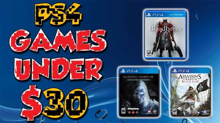 Best PS4 games under $30 or less