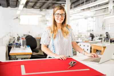 Kathleen Reid preparing new design