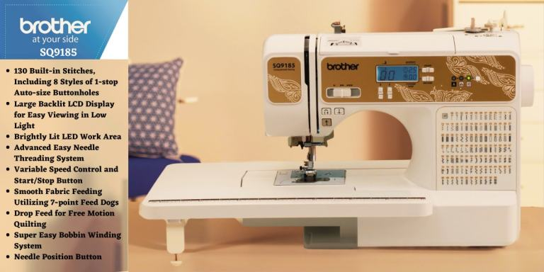 Brother SQ9185 Sewing Machine Reviews