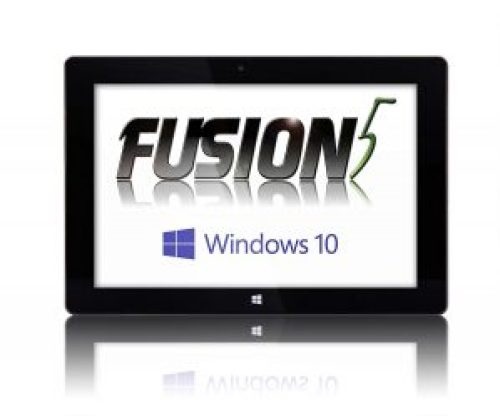 Fusion5 Windows Tablet PC 10 inch, Windows 10, Ultra Slim Design, 32GB Storage, 2GB RAM – Complete with Touch Screen, Dual Camera, Bluetooth, Intel Baytrail-T CR Quad Core Z3735F (G), 10 inch IPS