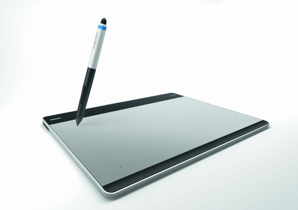 Wacom Intuos Pen and Touch CTH-680/S3 (Medium), Compatible with both Mac and PC