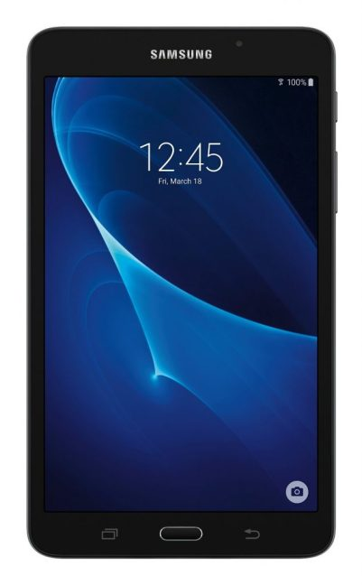 Samsung Galaxy Tab A 7 inch Tablet 8GB Storage, Wi-Fi, RAM 1.5GB, Google Android 5.1 Lollipop, Quad Core 1.3 GHz, Bluetooth 4.0, 1 Year Manufacturer Warranty, Black