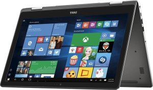 Dell Inspiron 15.6 inch 2 in 1 Convertible Tablet Laptop Full HD Touchscreen, Intel Core i5-6200U 2.3GHz, 8GB RAM, 256GB SSD, Backlit Keyboard, Webcam, WIFI, HDMI, Windows 10, Gray
