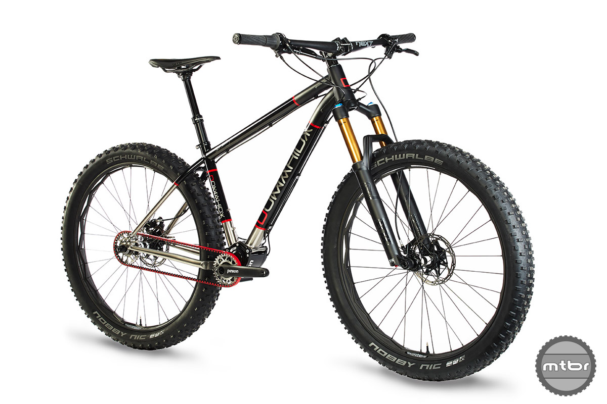 Domahidy Designs New Ti Hardtail With Internal Gearbox