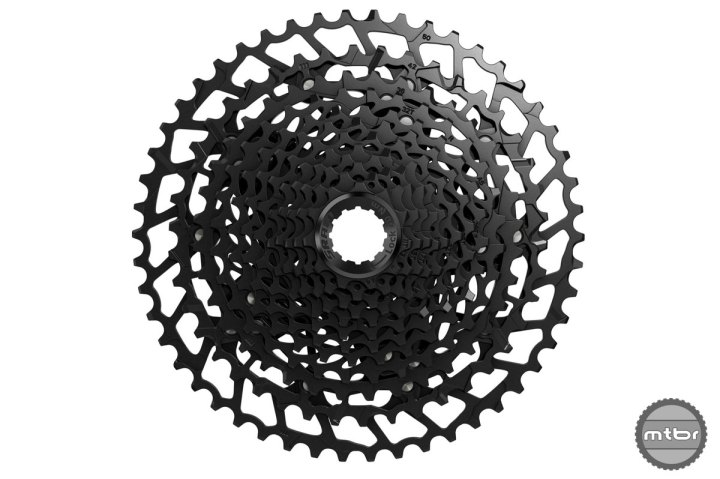 Cassette with 11-50 uses the splined driver body.