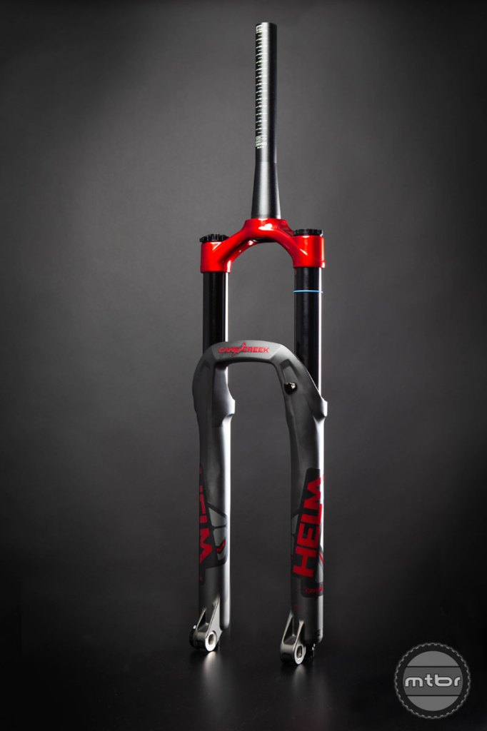 "Cane Creek Helm 27.5 ""Cherry Bomb"" limited edition fork"