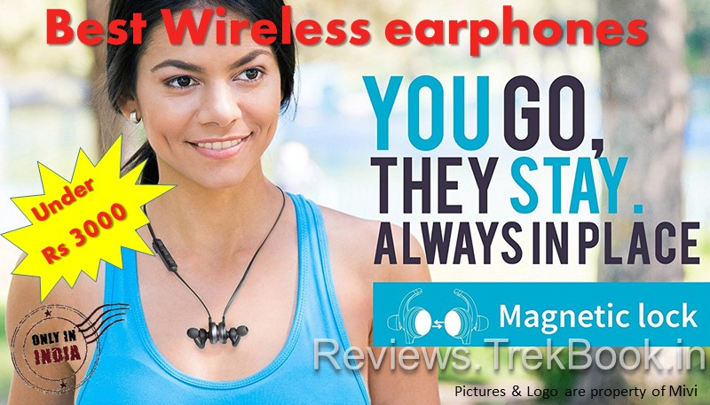 Best Wireless earphones under Rs 3000 in India