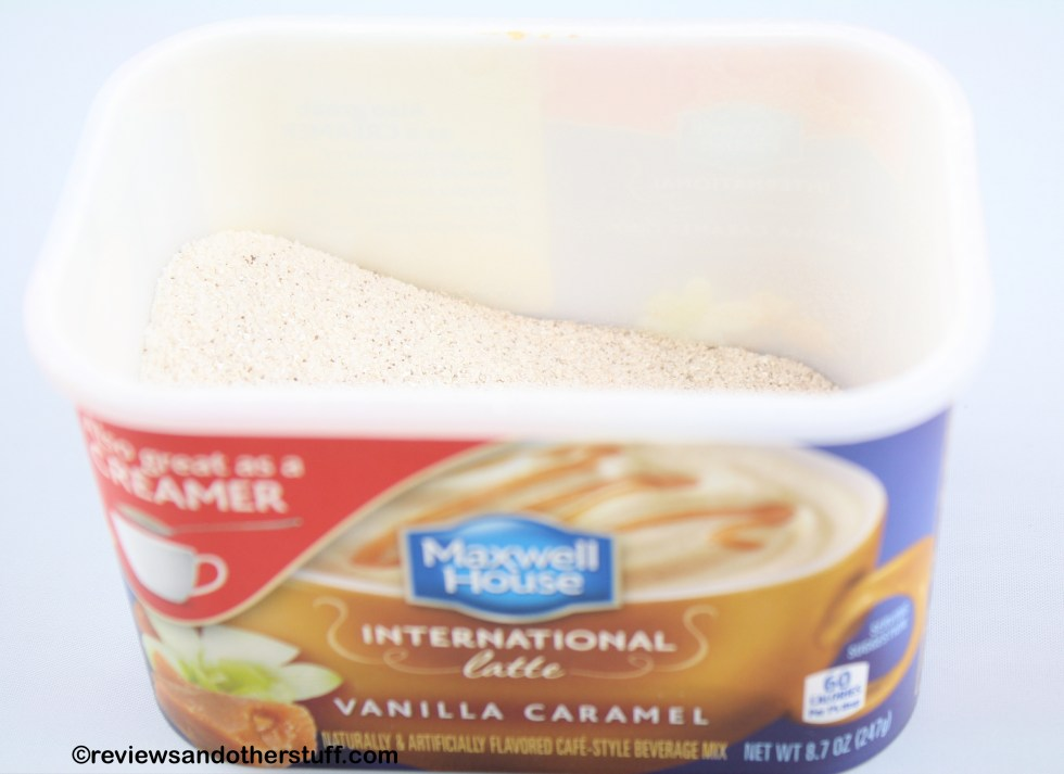 Maxwell House International Cafe Vanilla Caramel