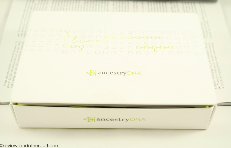 ancestry dna box kit review