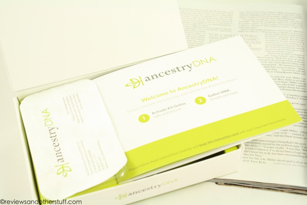 ancestry dna kit review