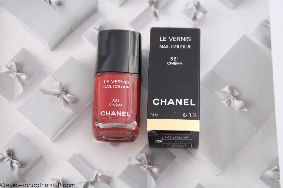 chanel nail polish cinema