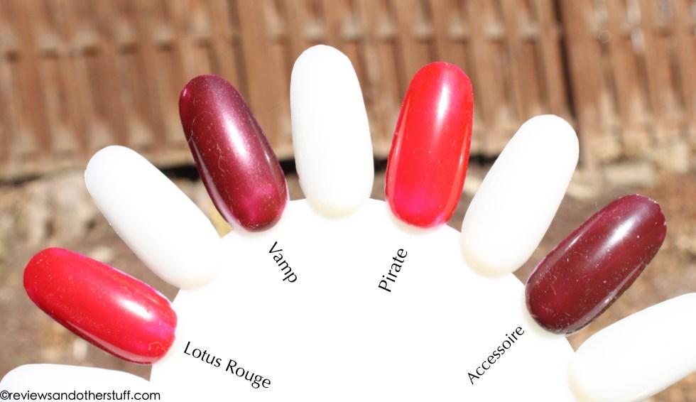 chanel nail polish swatches