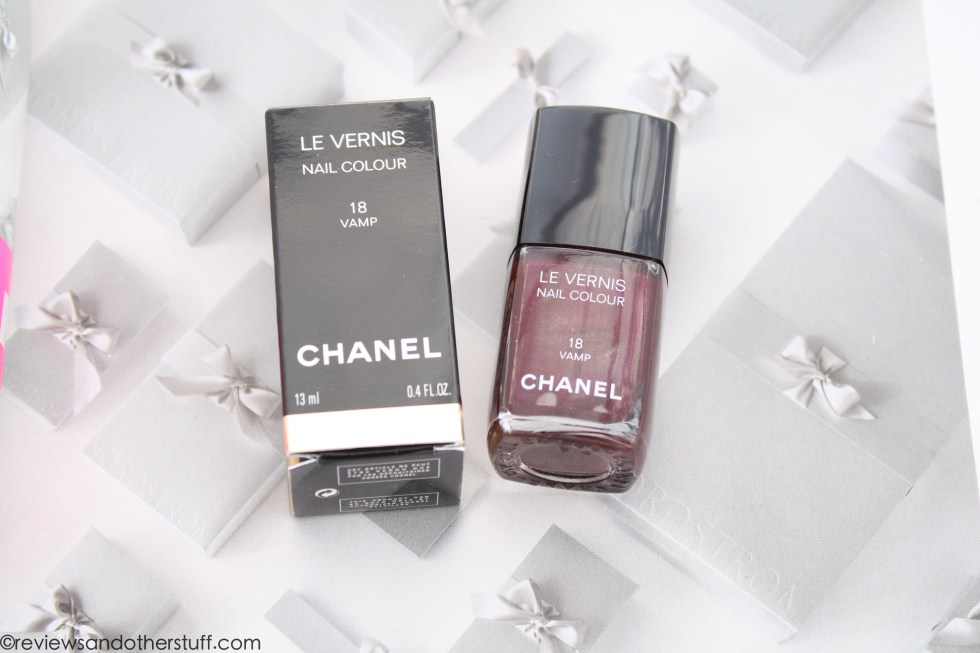 chanel nail polish vamp