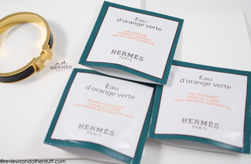 hermes clic h black enamel gold hardware in gm review