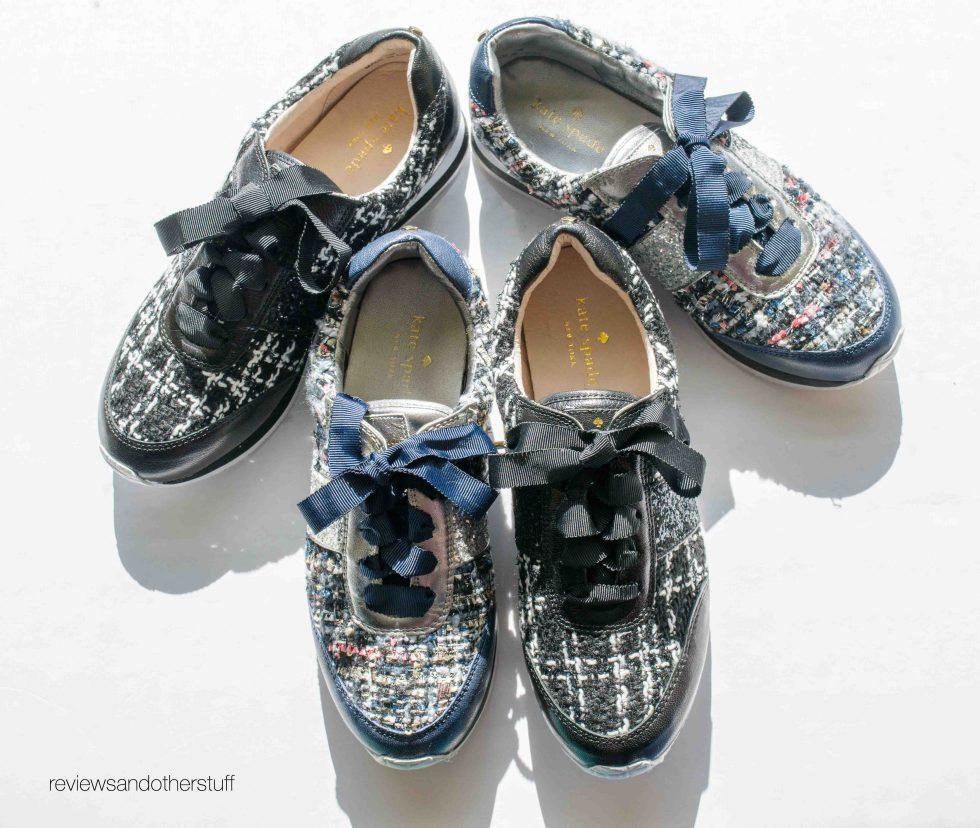 kate spade sidney sneakers review