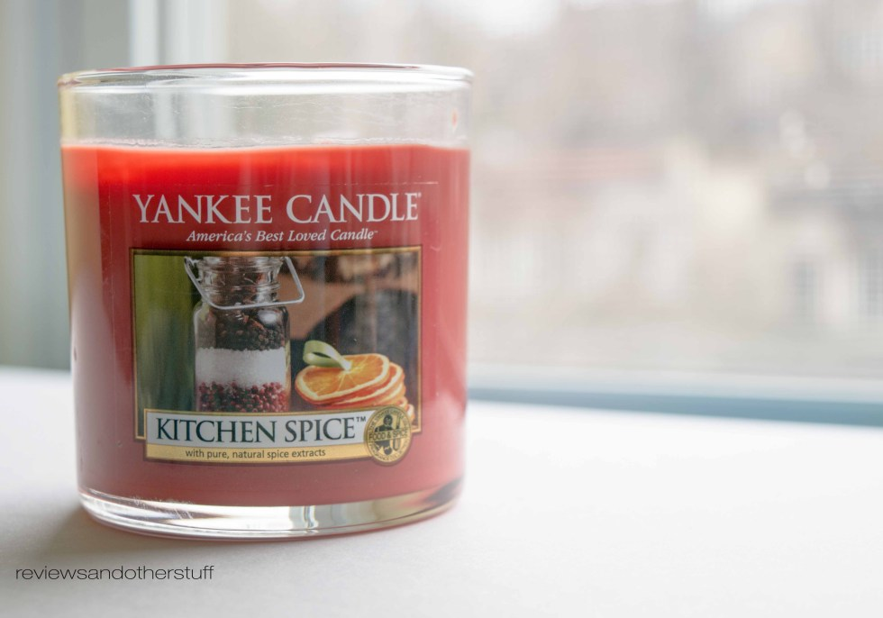yankee candle kitchen spice review
