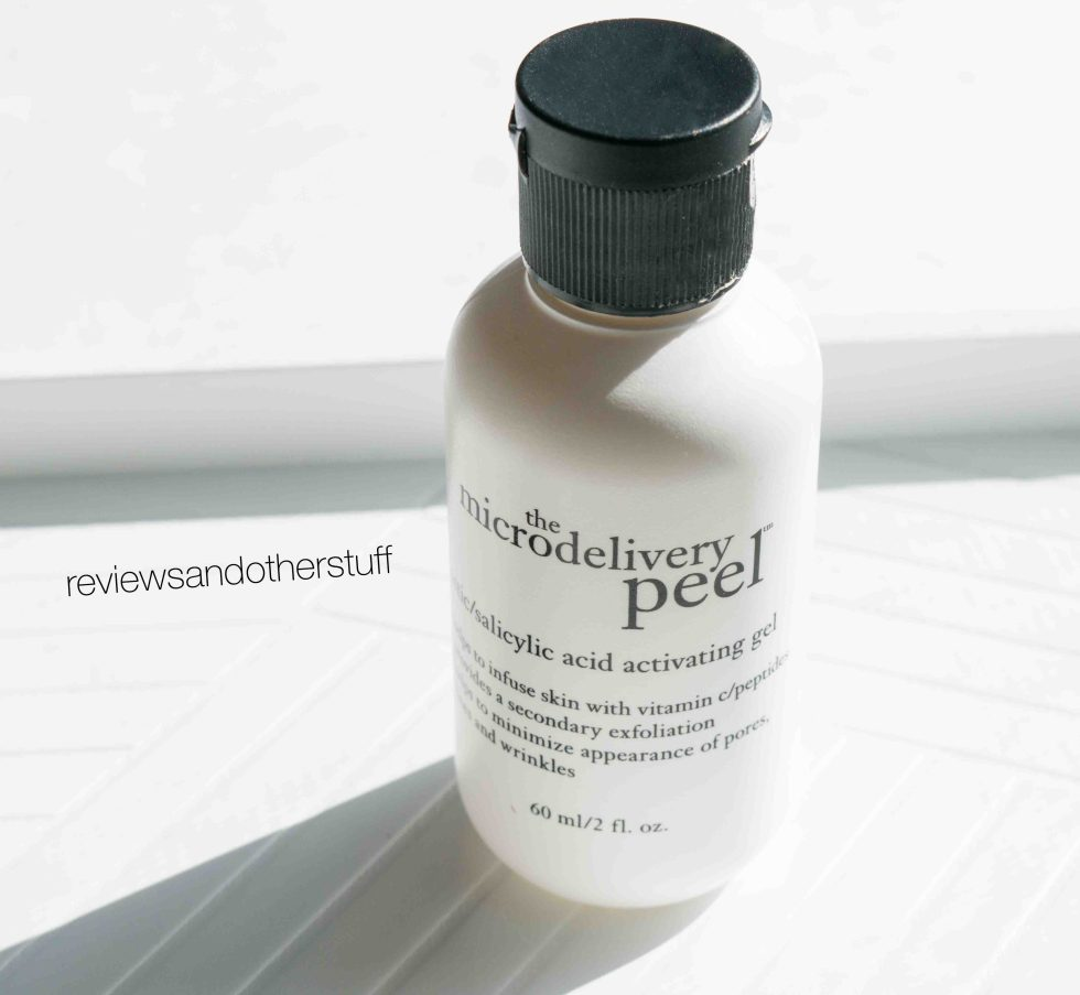 philosophy the microdelivery salicylic acid activating peel review