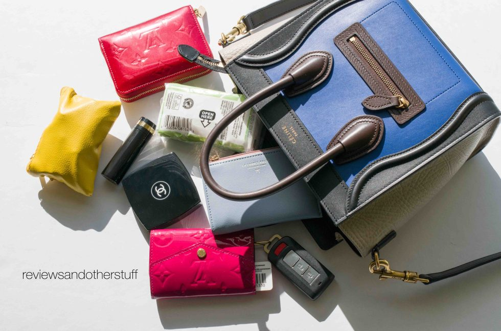 what fit in a celine nano