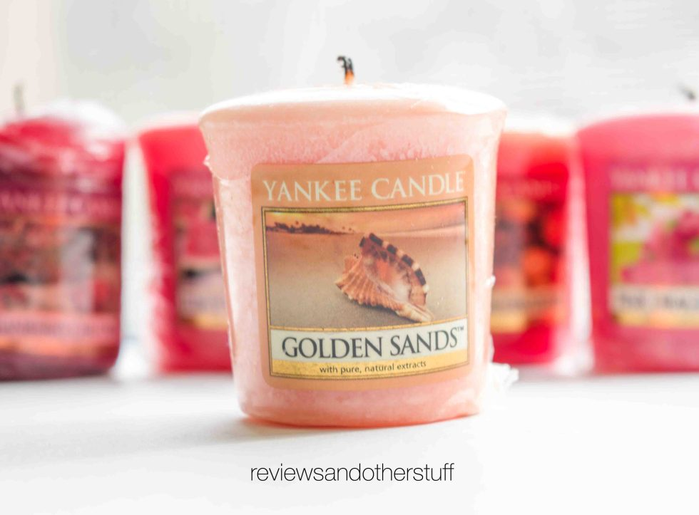 yankee candle golden sands review