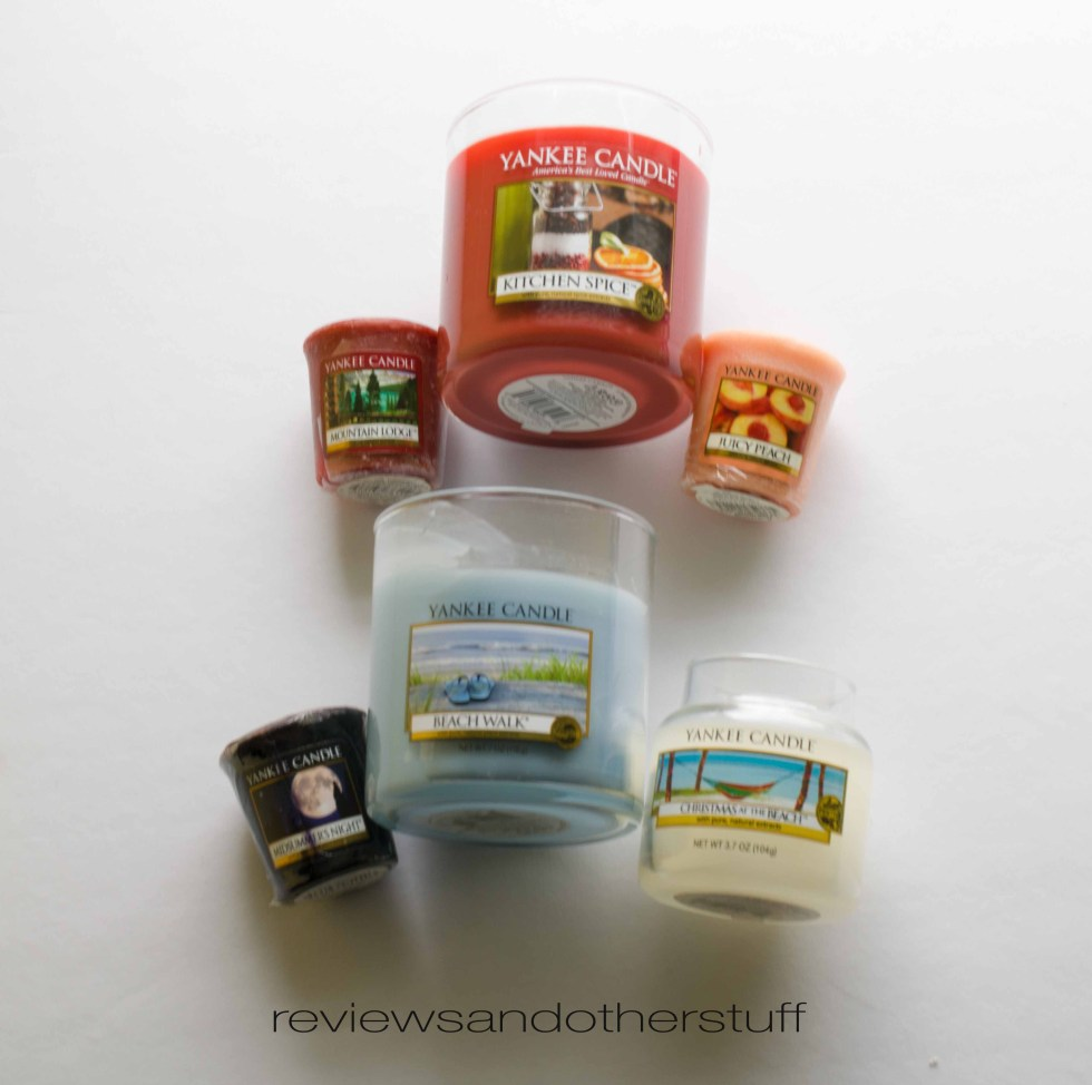 yankee candles pictures