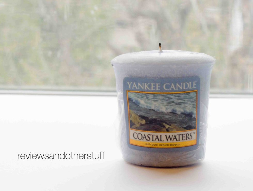 yankee candle review coastal waters