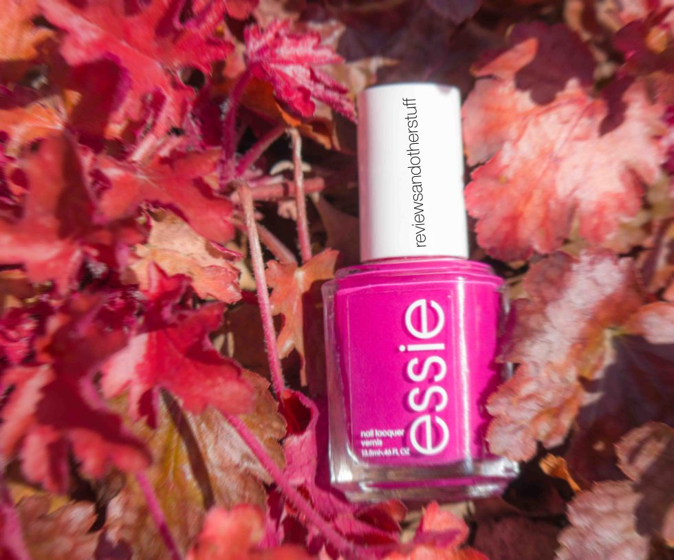 essie big spender nail polish review