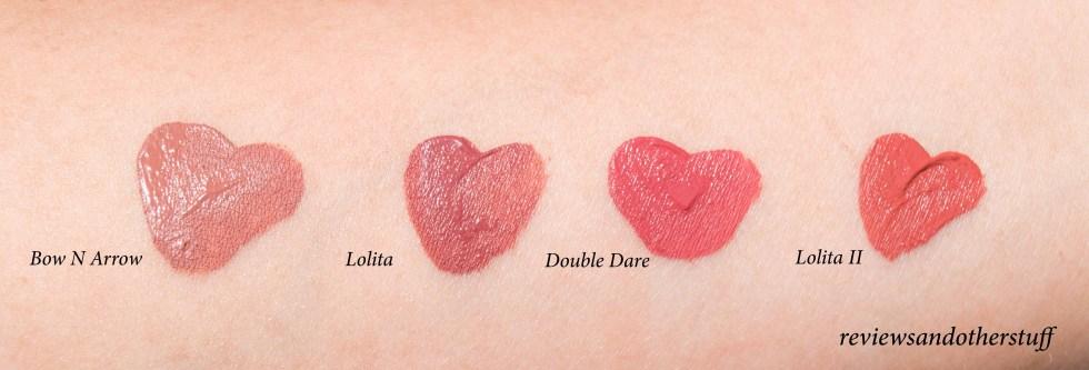 kat von d everlasting liquid lipstick reviews and swatches