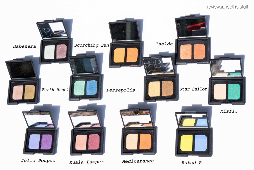 nars duo eyeshadow review