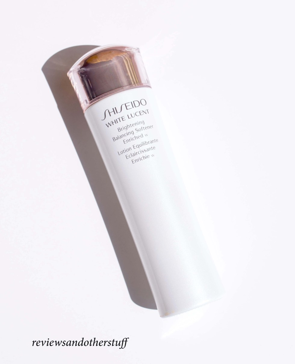 shiseido white lucent brightening balancing softener