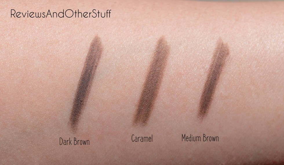 anastasia brow definer swatch and review