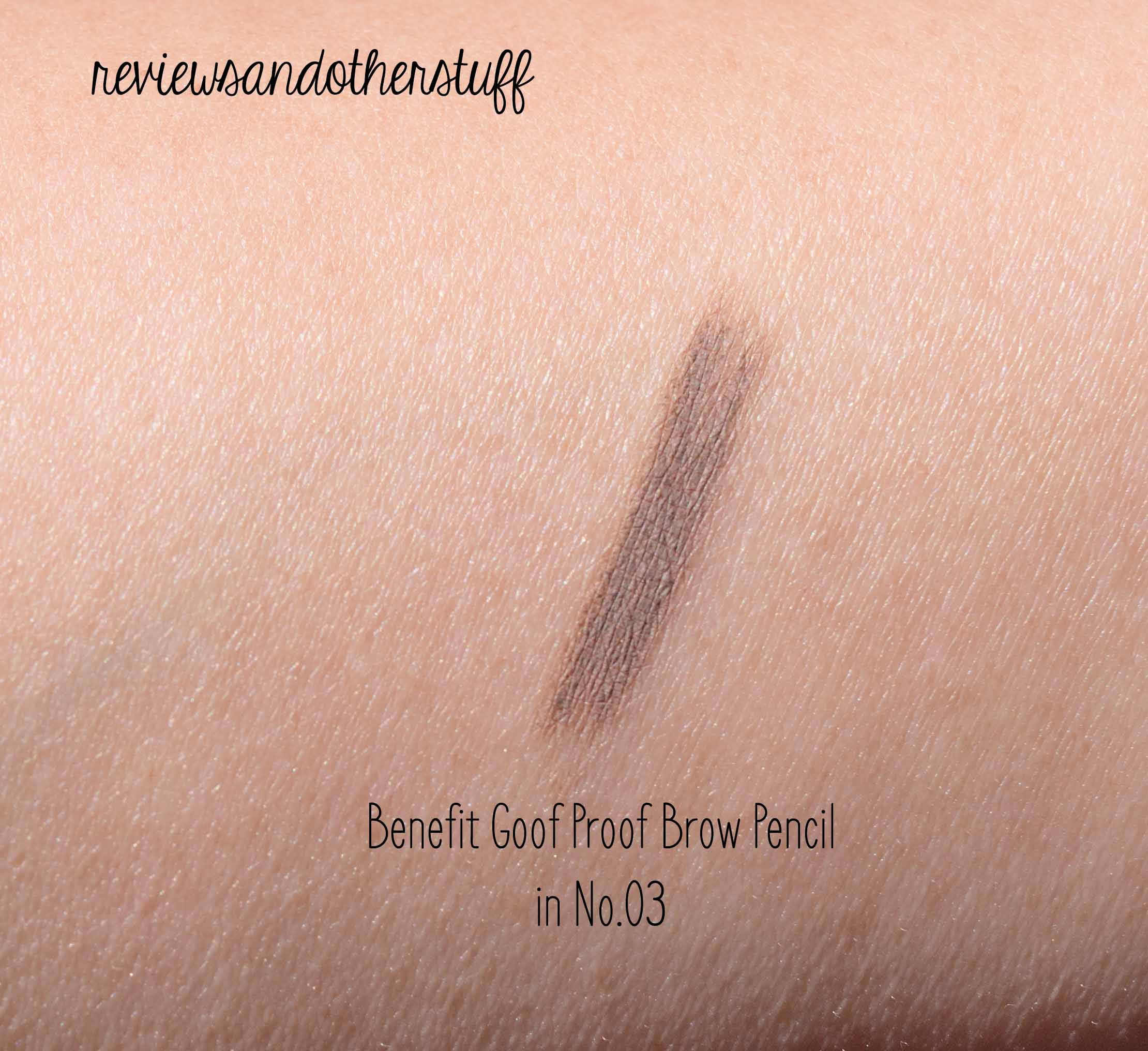 Goof Proof Brow Pencil by Benefit #3