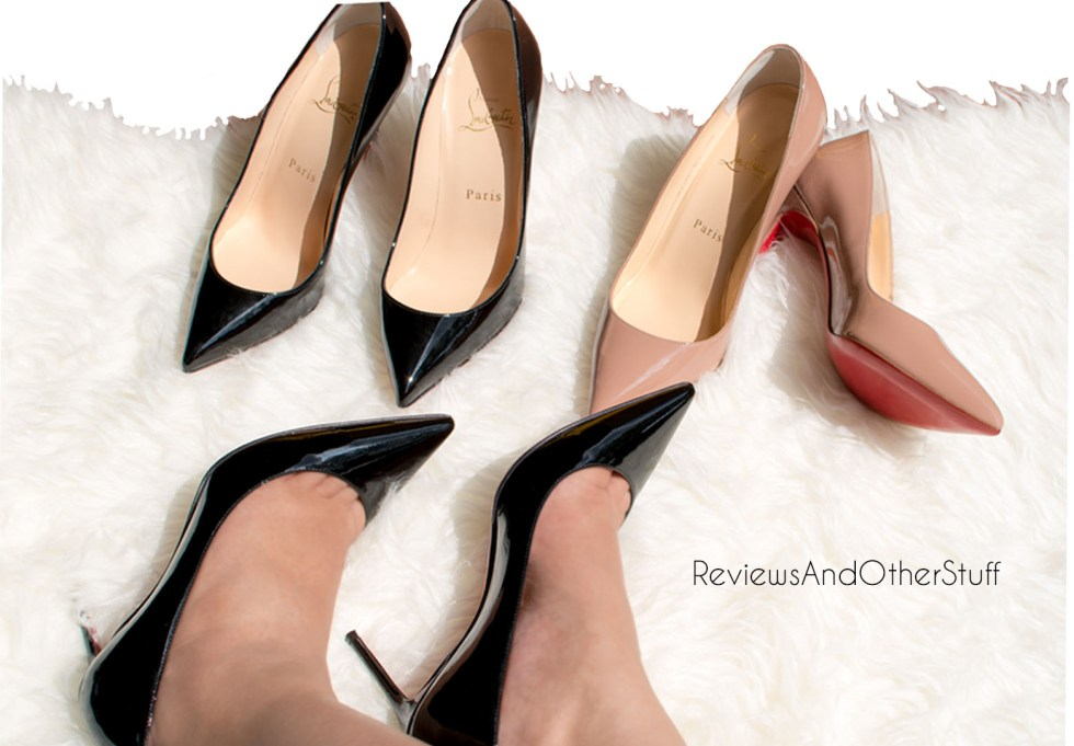 christain louboutin red soles high heels review