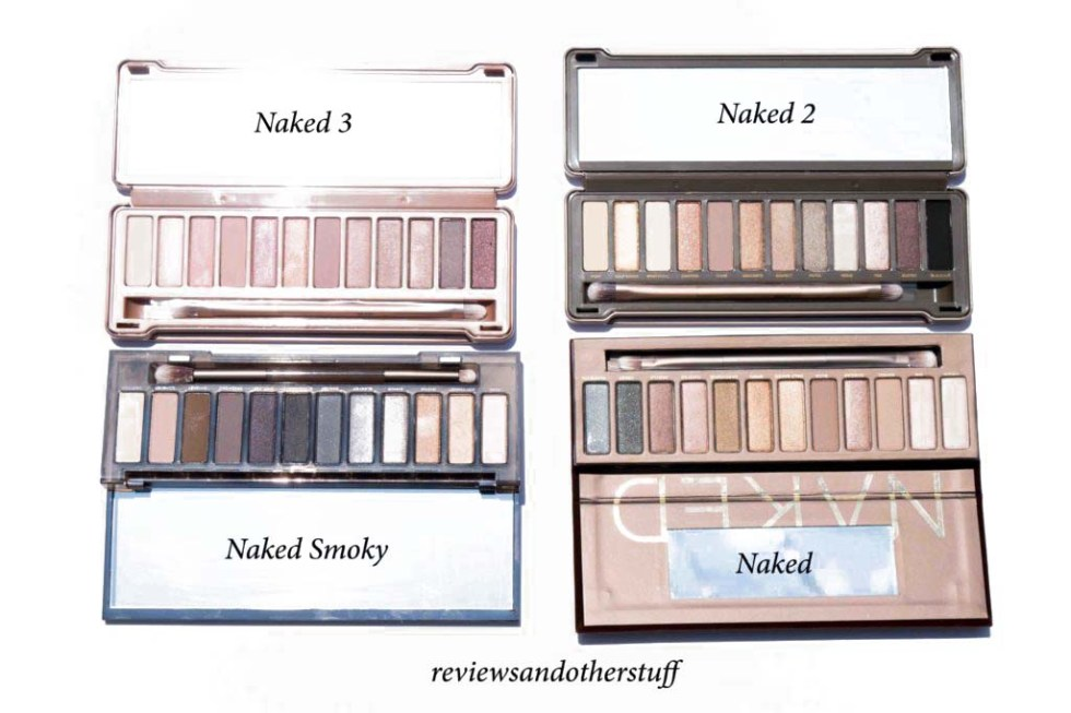 urban decay naked 2 and naked 3