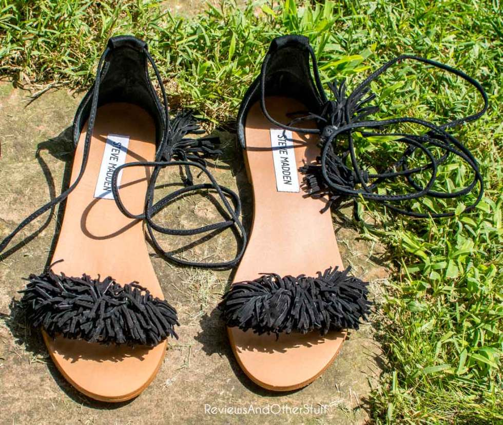 steve madden sweetyy lace up flats