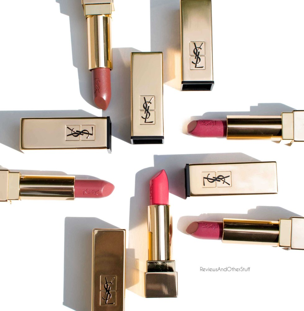 ysl rouge pur couture satin radiance lipstick reviews photos and swatches