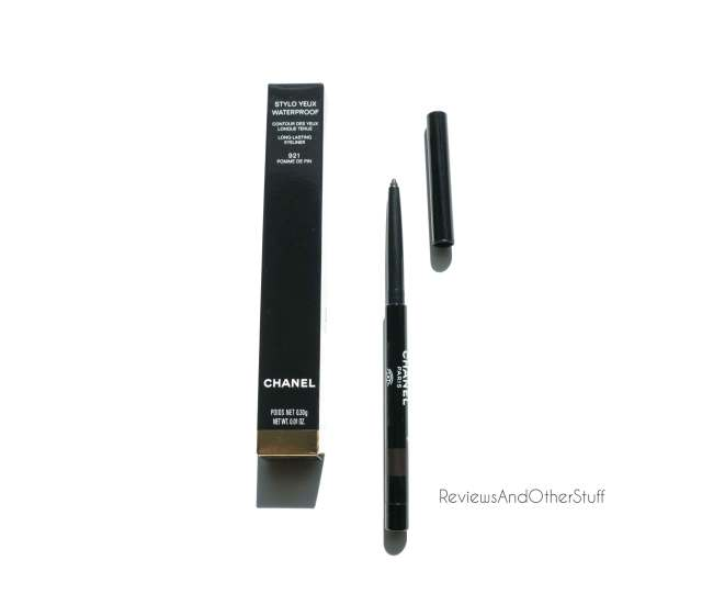 chanel stylo yeux waterproof eye liner pomme de pin