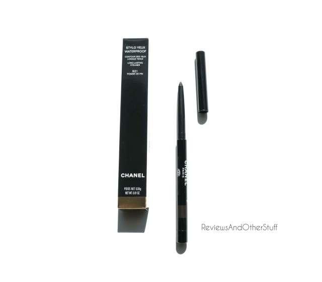 chanel stylo yeux waterproof eye liner pomme de pin