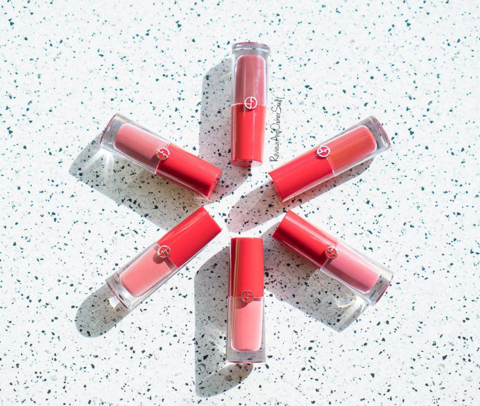 giorgio armani lip magnet lipsticks review