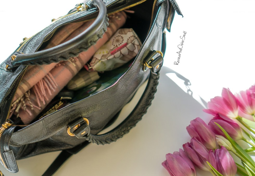 What's inside my bag Balenciaga Classic Metallic Edge City